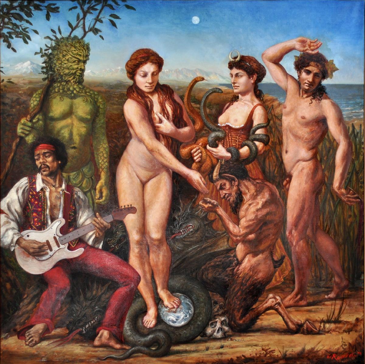 Pagan erotic rituals