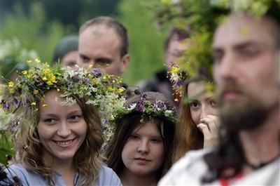 Russia Summer Solstice