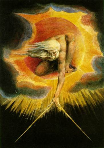 """The Ancient of Days"" by William Blake"