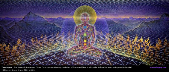 """Theologue"" by Alex Grey"