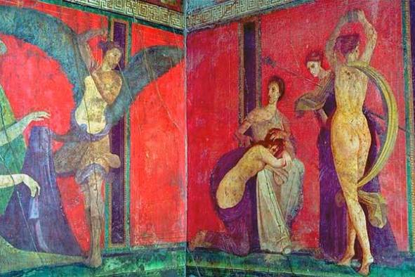 Villa of the Mysteries at Pompeii