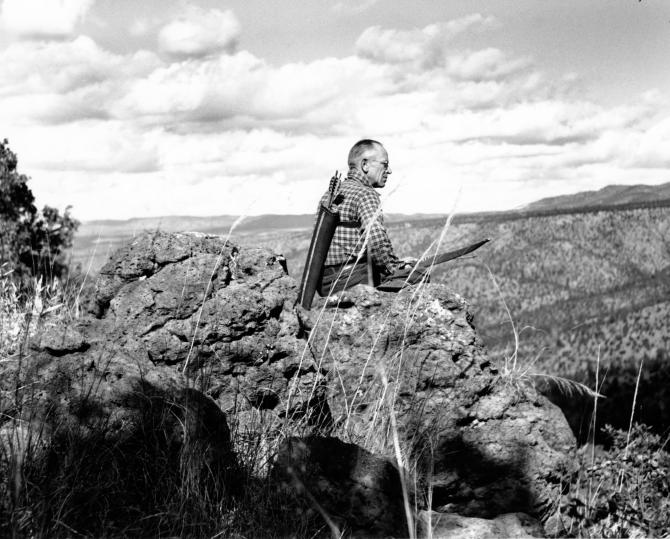 "aldo leopold mountain essay Center for humans & nature skip to content  wolves, wisconsin, and aldo leopold by:  ""thinking like a mountain"" re-examining this essay,."