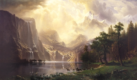 Albert_Bierstadt,_Among_the_Sierra_Nevada_Mountains-2